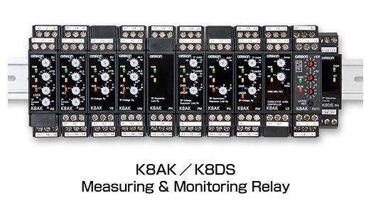 Az Omron K8 sorozatú felügyeleti reléi átfogó védelmet nyújtanak a gépek számára