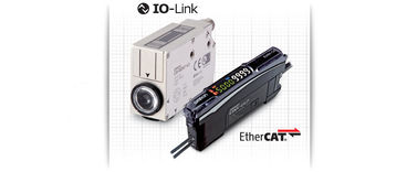 E3S-DC és E3NX-CA színesjelölés-érzékelők minden csomagolástípushoz