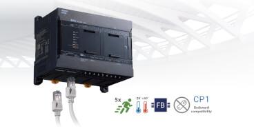 Váltson CP1E kompakt vezérlőről CP2E kompakt vezérlőre, amely teljesen kompatibilis az előző verzióval!